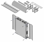 Avaya IP500 Wall Mounting Kit V2 - 700500923