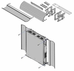 Avaya IP500 Wall Mounting Kit V3 - 700503160