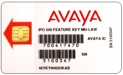 IP500 Smart Card Feature Key (700417470)