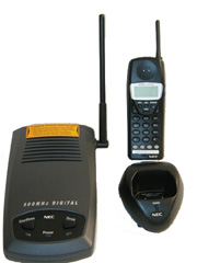 NEC DTH-4R-1 Cordless Phone