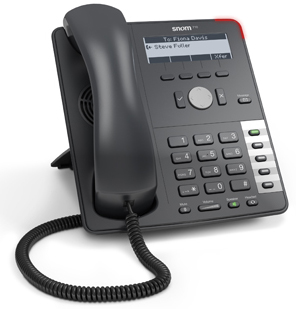 Snom 710 Phone Black - 2793