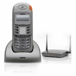 Norstar-Avaya T7406E Cordless Phone with Base - NT8B45AAAP