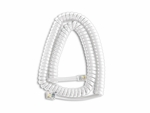 White Handset Cord (HCWH0212)