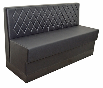 Diamond Tufted Booth - Fully Customizable