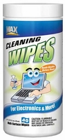 (12 CASE) Max Professional Anti-Static Electronics Cleaning Wipes