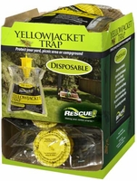 (12 DISPLAY BOX) Rescue - Eastern Disposable Non-Toxic Yellow Jacket Trap, YJTD-DB12-E