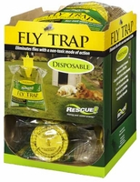(12 DISPLAY CASE) Rescue - Disposable Non-Toxic Fly Trap ( Regular Size ), FTD-DB12