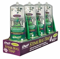 (4 DISPLAY TRAY) Rescue - Reusable Non-Toxic Stink Bug Trap, SBTR-SF4