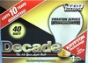 (4 PACK) Feit Decade 40W 120V A19 Frosted Long Life Bulb E26 Base, 40A25K