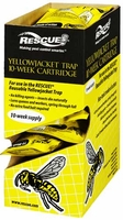 (9 DISPLAY BOX) Rescue - Yellow Jacket Trap Non-Toxic Attractant Refill (10 Week), YJTC-DB9