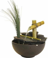 Alpine Eternity Bamboo Tabletop Fountain TT5136