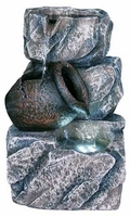 Alpine Rock Fountain with Jar and LED Lights GIL792