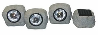 Alpine Solar Rock Lights - Set of 3 SLC164SLR
