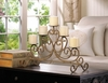 Antiqued Scrolled Candelabra 10015541