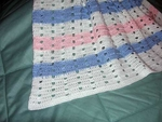 Baby Afghan, Striped