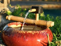 Bamboo Classic Wooden Water Spout and Pump Kit (18 Inch)