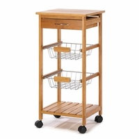 Bamboo Kitchen Cart  14710