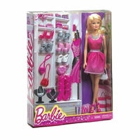 Barbie with Shoe Closet 12010026