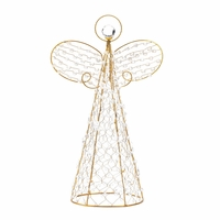 Beaded Holiday Angel Figure, 18 inch 10015359