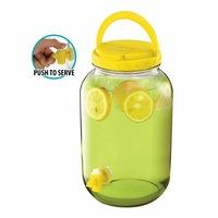 Beverage Dispenser with Handle, Yellow 10016418
