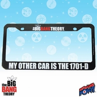 """Big Bang"" License Plate Holder 10016522"