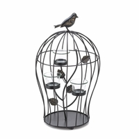 Birdcage Candleholder with Cups, 15 3/4 inches 10015369