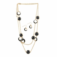 Black Orbit Jewelry Set 10016107