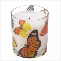 Butterfly Candle Jar 13793