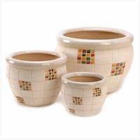 Checker Planter Set 14250