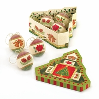 Christmas Tree Ornament Set, Boxed 10016078