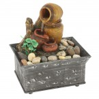 Clay Pot Table Fountain 7 inches 10016485