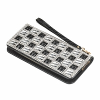 Crystal Checker Ladies Wallet 10016148