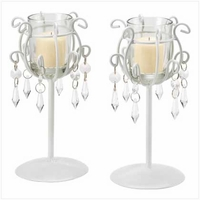 Crystal Drop Votive Stand 39550