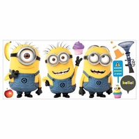 Despicable Me 2 Minions Wall Decals 10016280