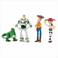 Disney Toy Story Figures (Woody, Buzz, Jessie and Rex) 14480
