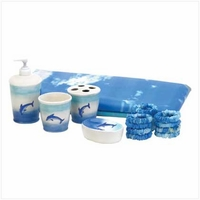 Dolphin Bath Set 37749