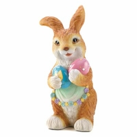 Easter Egg Hunt Bunny Figurine 14628