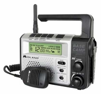 Emergency Crank Base Camp 2-Way Radio  XT511