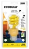 Feit ECOBulb Yellow Bug Light 13W / 60W 120V Long Life Twist CFL E26 Base, BPESL13T/BUG