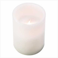 Flameless Pillar Candle 14366
