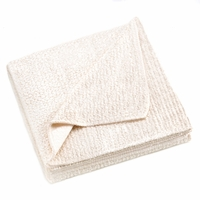 Fleece Throw, Ivory 10015330