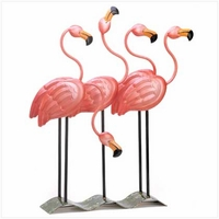 Flock O'Flamingos Outdoor Figurine 13771
