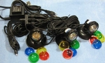 Fountain Tech Color Submersible 10 Watt (10W) Halogen Light Set, FT-3-10W PL13