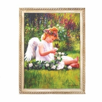 Garden Angel Framed Art 14970