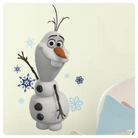 "Giant Wall Sticker, Olaf from ""Frozen"" 10016637"