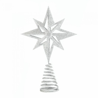 Glitter Star Tree Topper 10017591