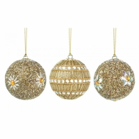 Gold Beaded Ornaments 10017587
