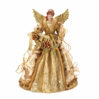 Golden Angel Tree Topper 10015395