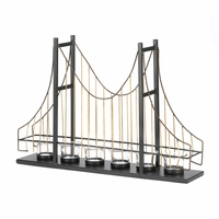 Golden Gate Candleholder Centerpiece 10015495