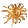 Golden Sun Candle Sconce 10015294